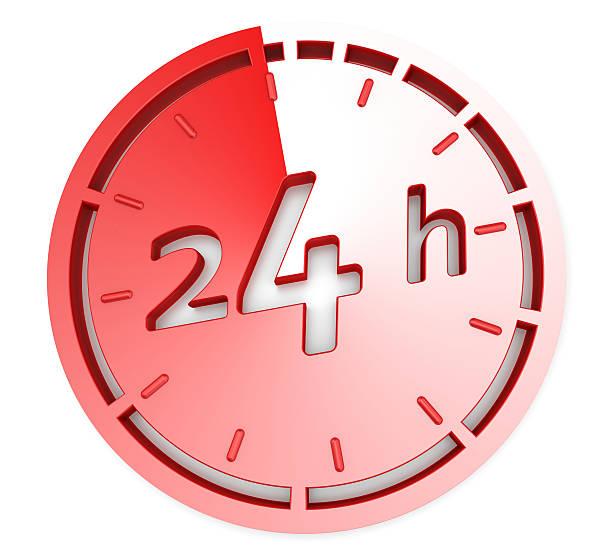 ouverture concept 24 heures sur 24 - nombre 24 photos et images de collection