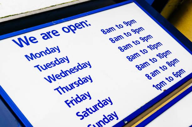 슈퍼마켓에서 영업 시간 - small business saturday 뉴스 사진 이미지