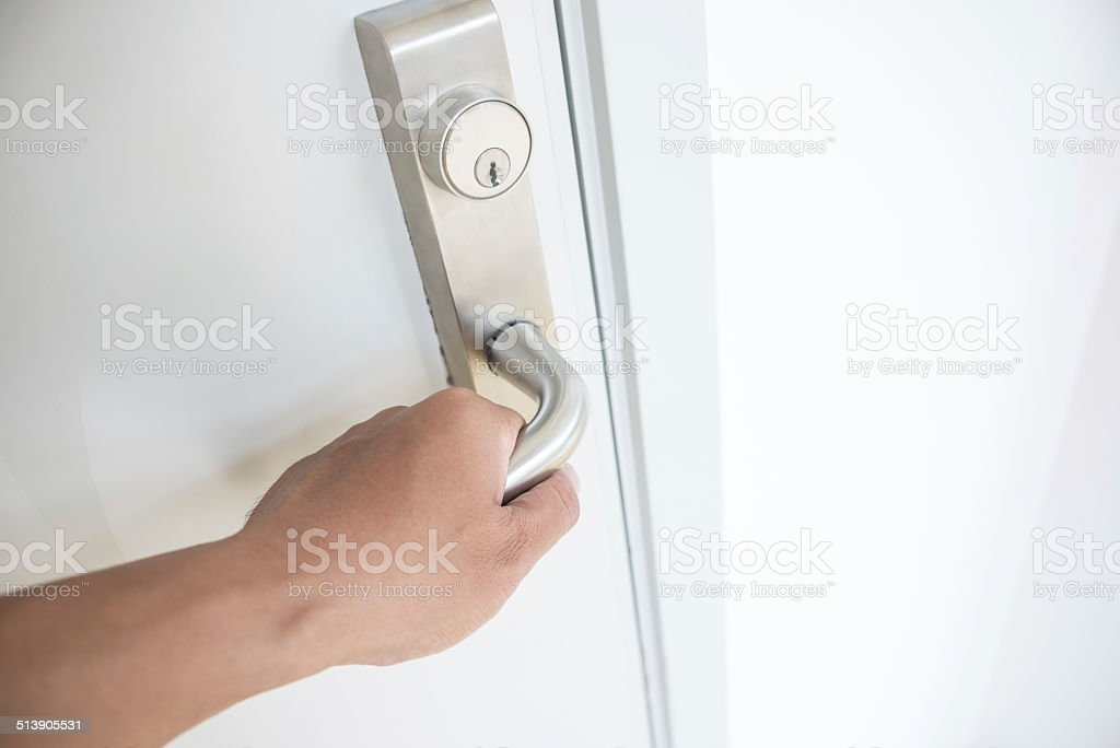 ... Opening or Closing Door stock photo ... & Closing Door Pictures Images and Stock Photos - iStock pezcame.com