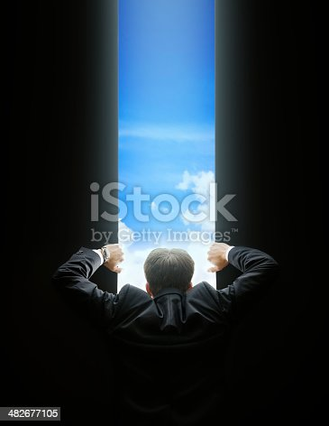 istock Opening the Gate 482677105