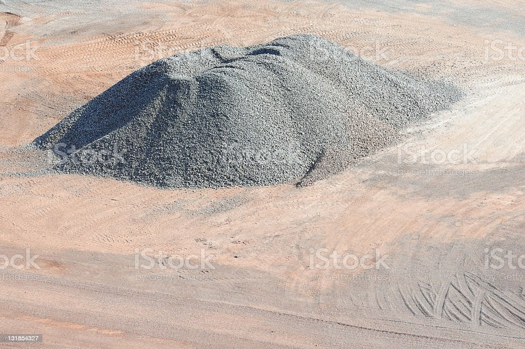 Open-pit Mine stock photo