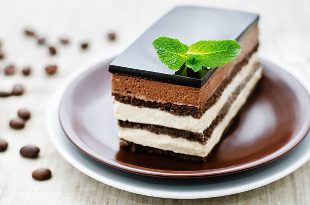 opera cake - opera stock photos and pictures