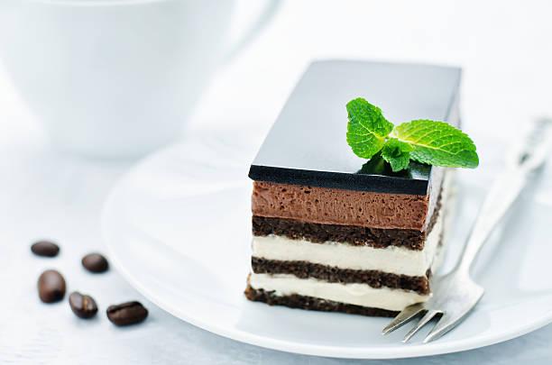 opera-kuchen - musik kuchen stock-fotos und bilder