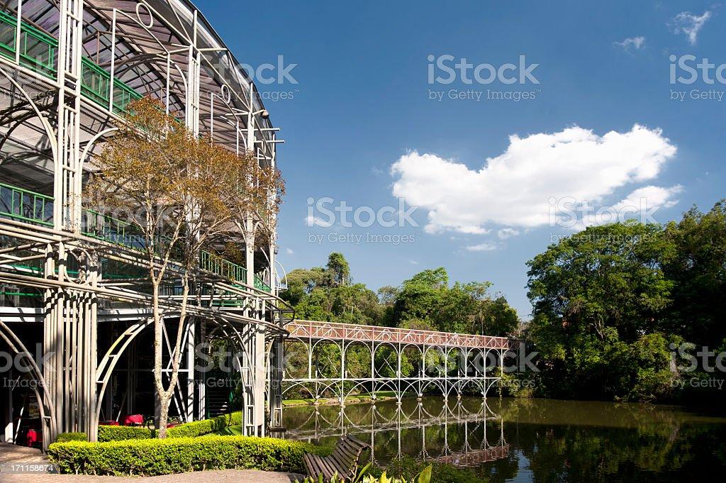 Opera Curitiba in Paraná State, Brazil stock photo