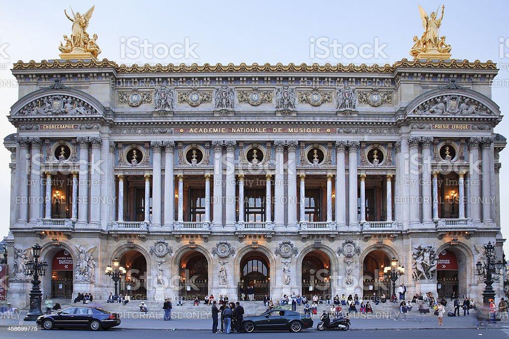 Opera Garnier royalty-free stock photo