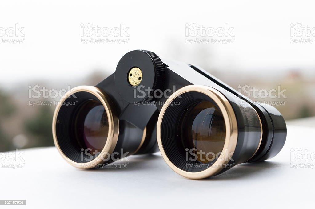 Opera glasses stock photo