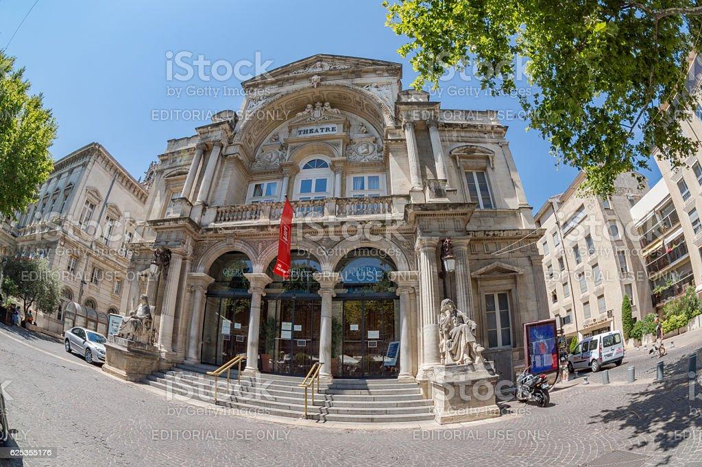 Opera Grand Avignon stock photo