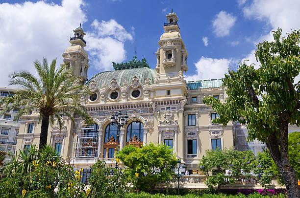 Opera House at Monaco stock photo