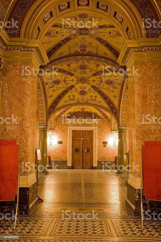 Opera House  Budapest, Hungary royalty-free stock photo