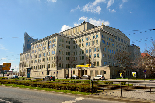 Opera House In Leipzig Stock Photo Download Image Now Istock