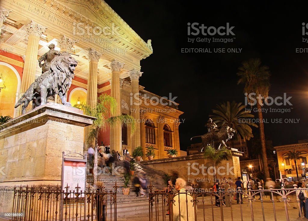 Opera House In Palermo Stock Photo & More Pictures of Architecture ...