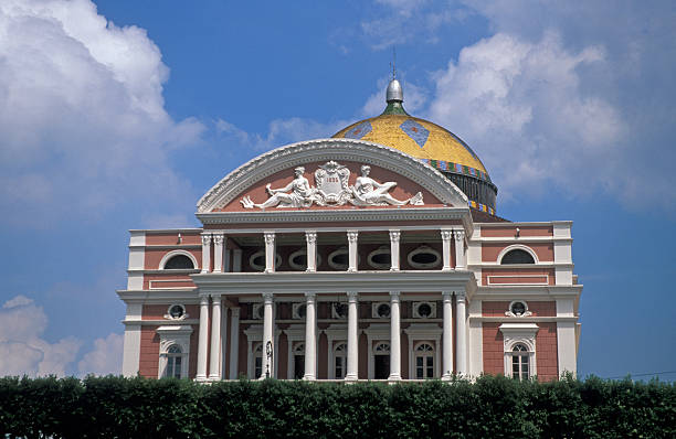 Opera House in the Amazon jungle  manaus stock pictures, royalty-free photos & images