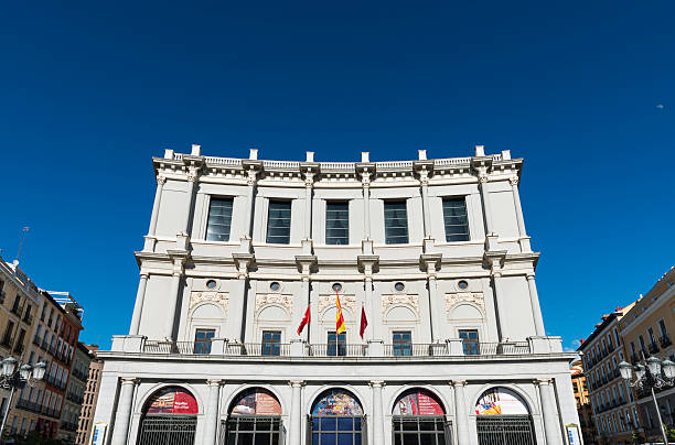 Opernhaus in der Plaza de Oriente in Madrid – Foto