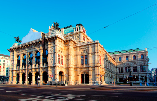 Opera House In Vienna Austrian Capital Stock Photo - Download Image Now