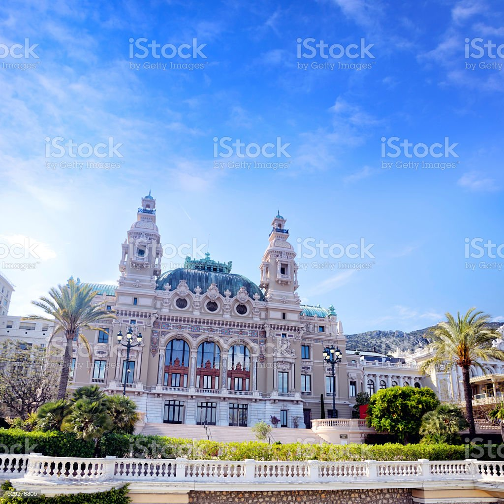 Opera House, Monaco stock photo