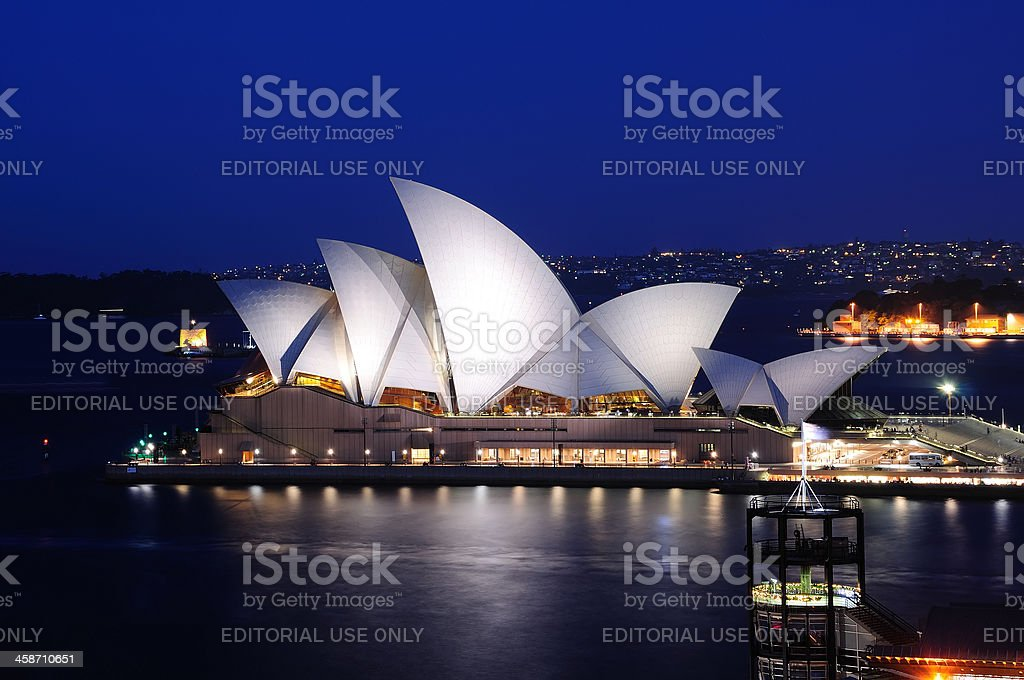Opera House, Sydney royalty-free stock photo