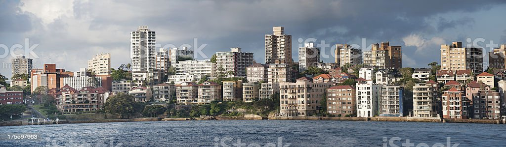 Opera House View Apartments, Sydney Harbour, Australia (XXXL) royalty-free stock photo