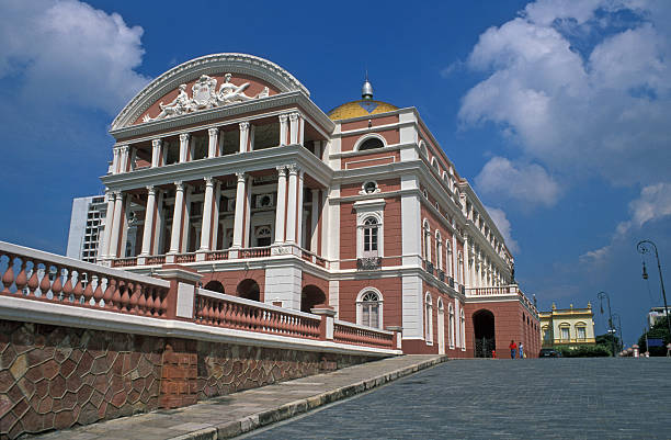 Opera in the Jungle  manaus stock pictures, royalty-free photos & images