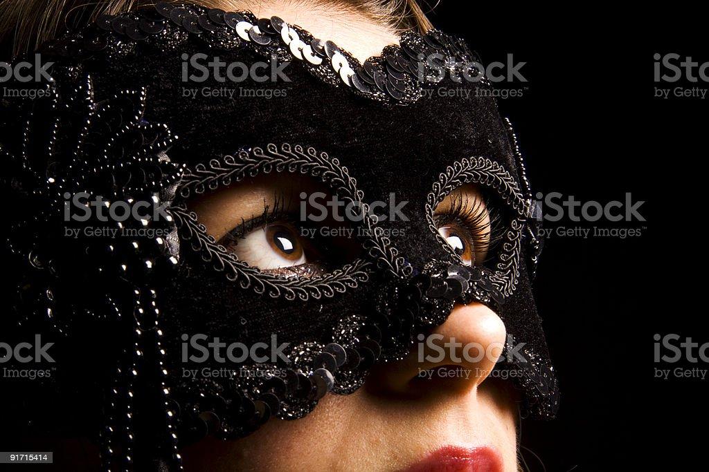 Opera Mask royalty-free stock photo