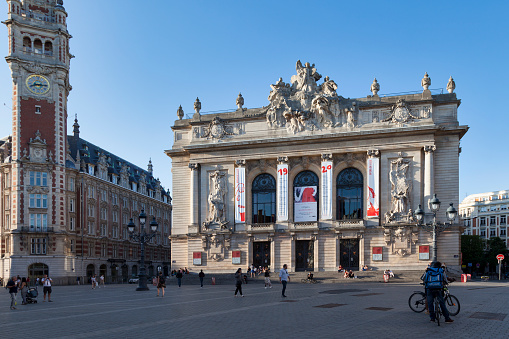 Opera Of Lille Stock Photo - Download Image Now