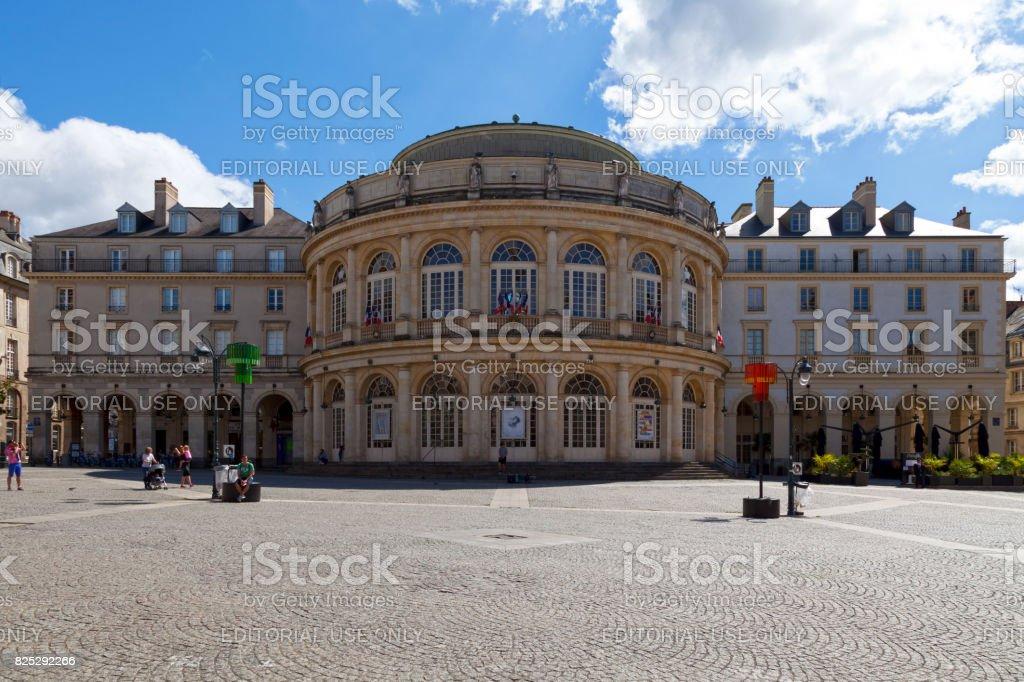 Opéra de Rennes en Bretagne - Photo