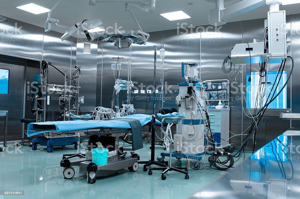 Quirófano en la cirugía cardíaca - Foto de stock de 2015 libre de derechos