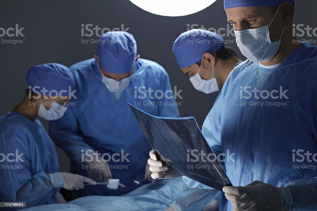 Operating room royalty-free stock photo