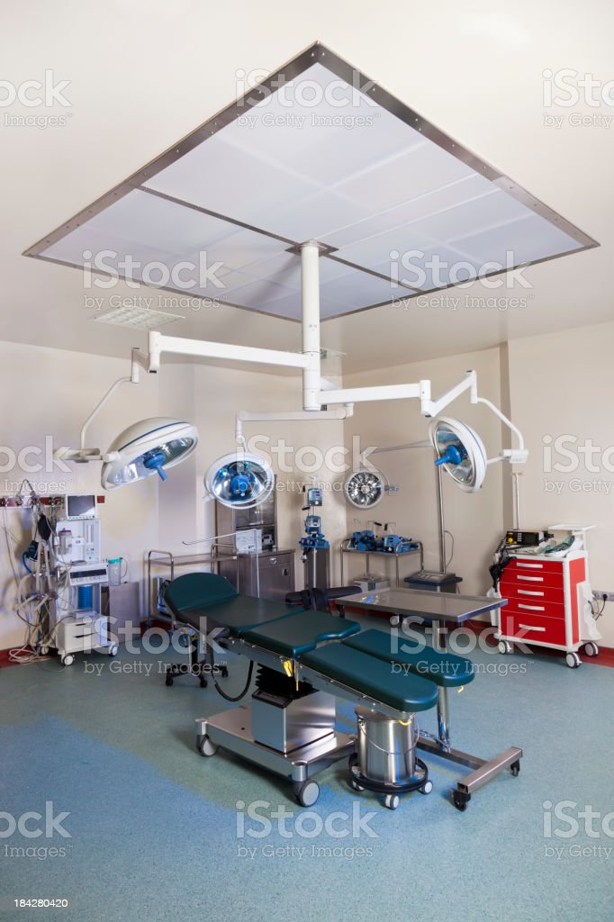 operating room royalty-free stock photo