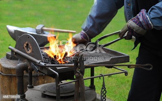 istock Operation of the smith. 488758559