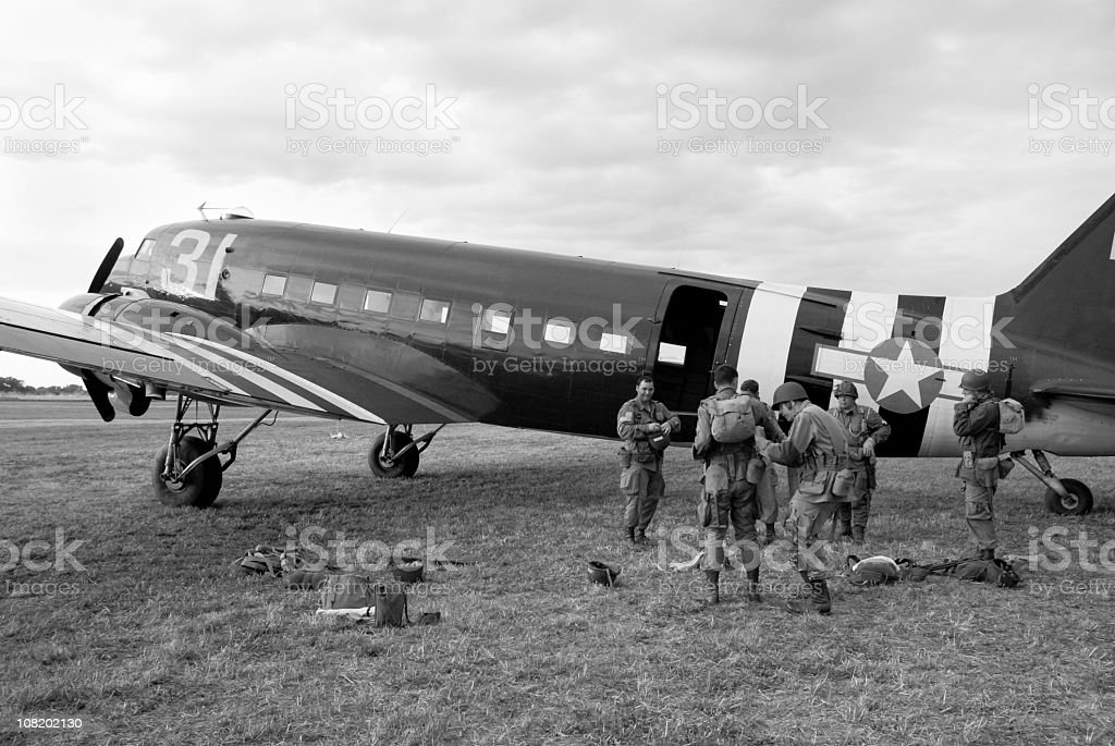 Operation Overlord stock photo