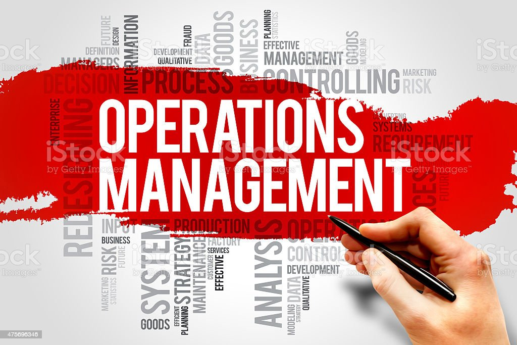 Operations Management stock photo