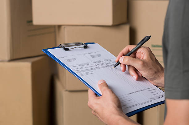 operator in warehouse working - form document stock pictures, royalty-free photos & images