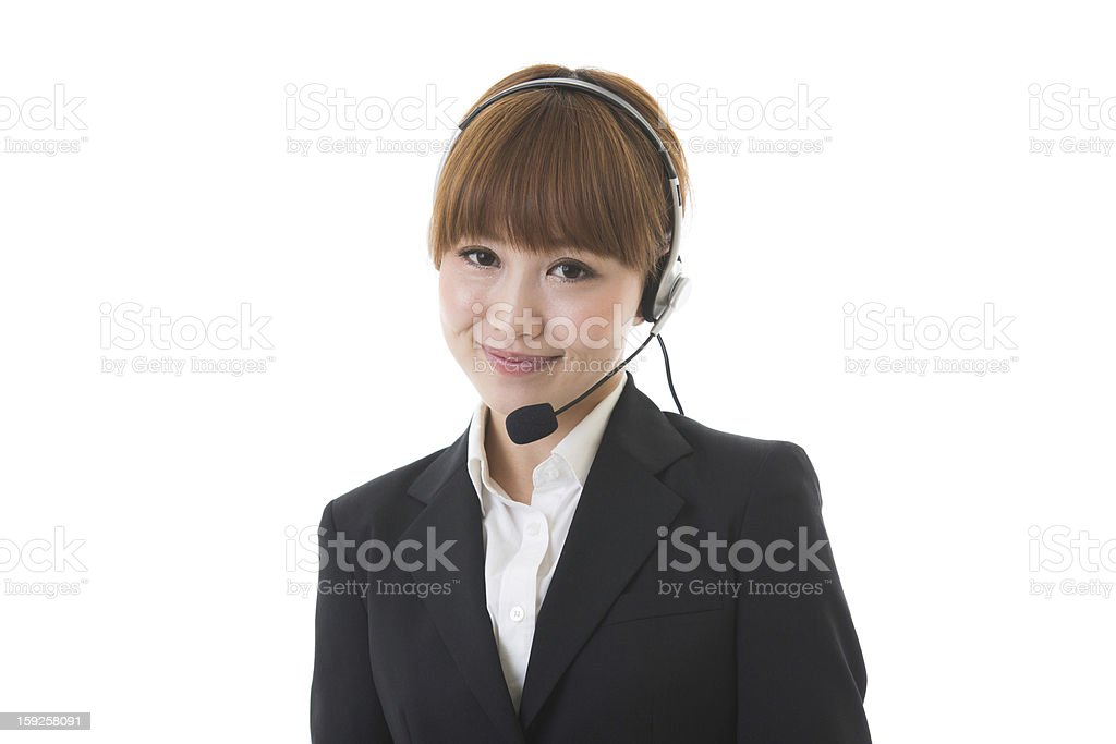 Operator royalty-free stock photo