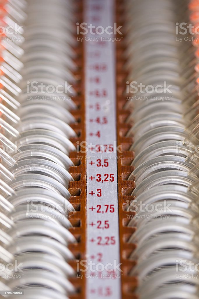 Ophthalmological equipment royalty-free stock photo