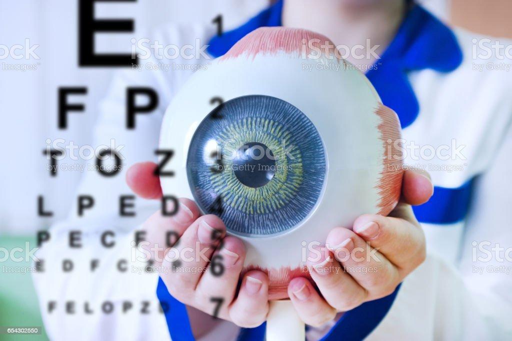 Augenheilkunde Oculus Probe closeup – Foto