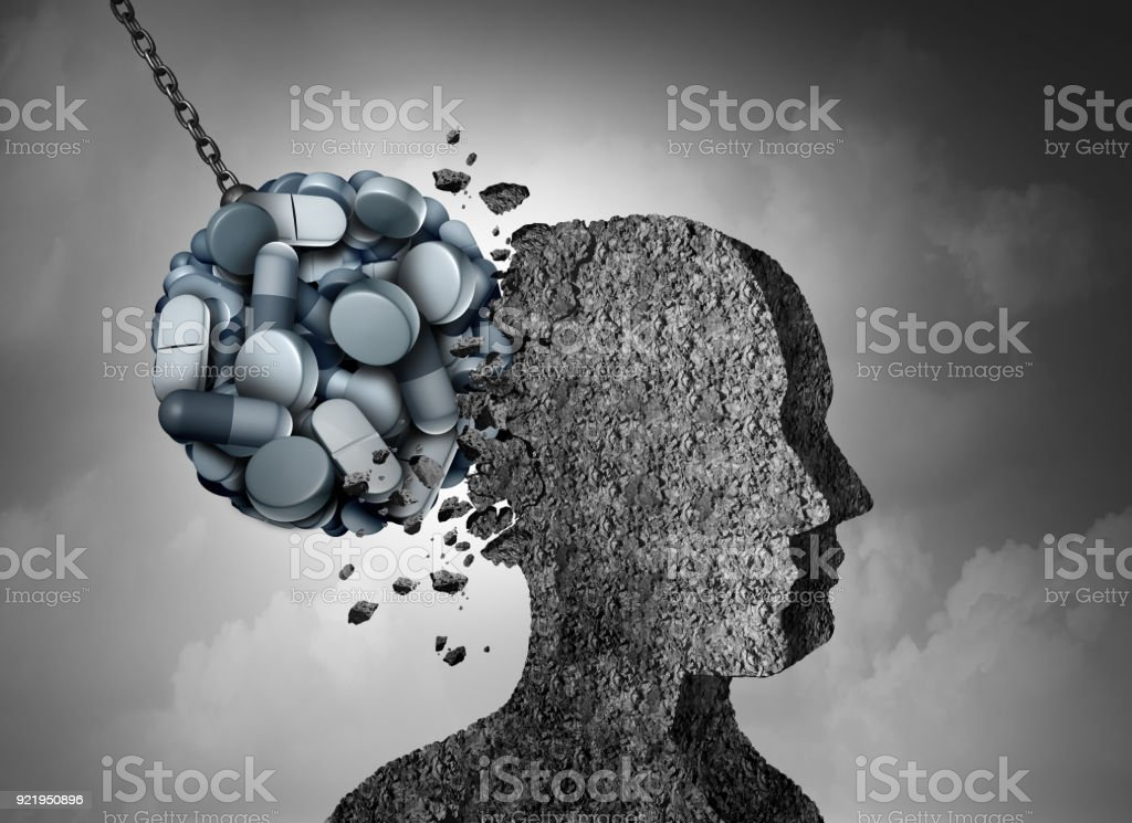 Opioid Epidemic stock photo