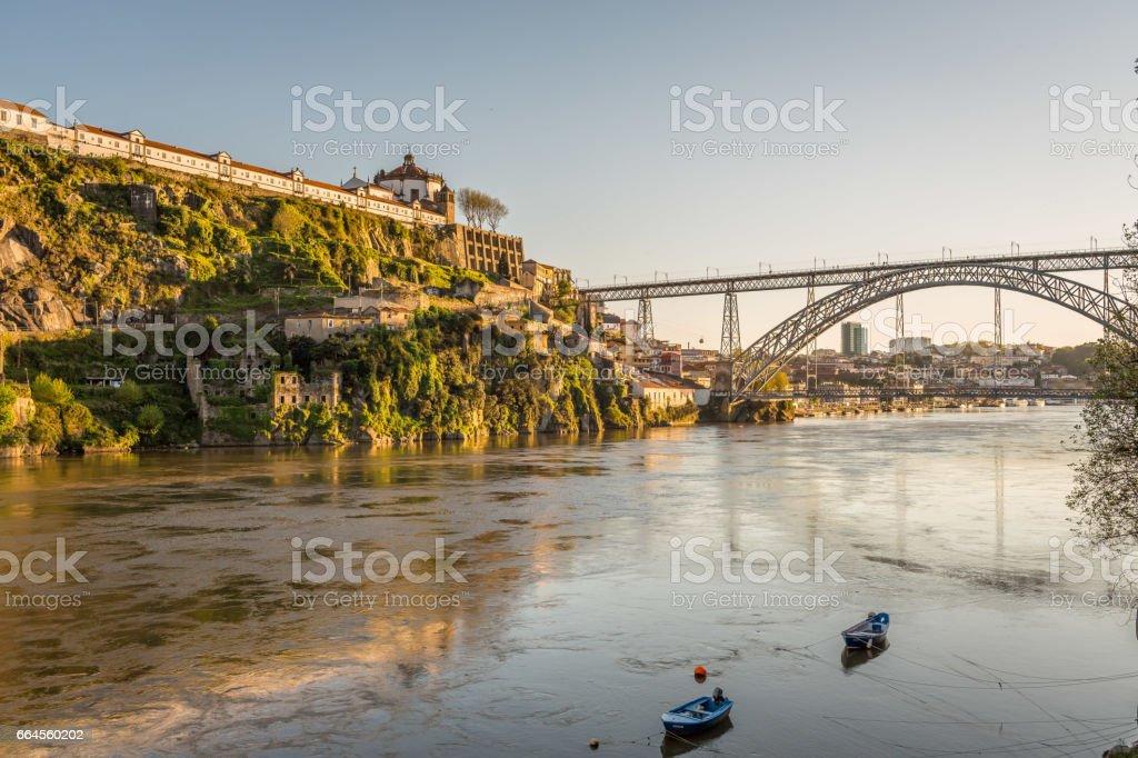 Oporto Bridge stock photo