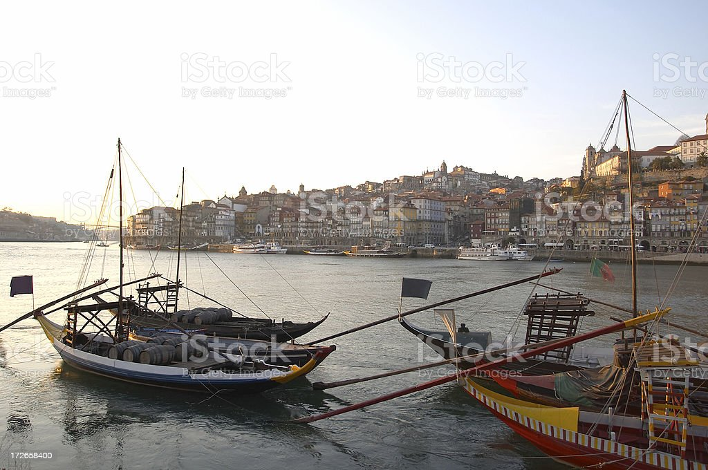 Oporto City  Portugal royalty-free stock photo