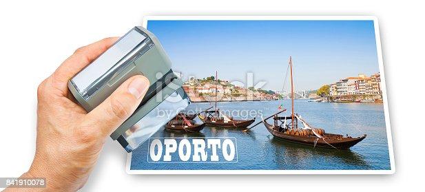 Oporto postcard concept image (Oporto - Portugal - Europe)