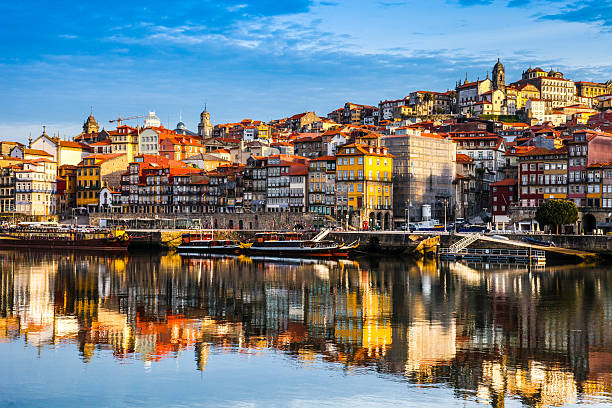 oporto ribeira - portugal stock photos and pictures