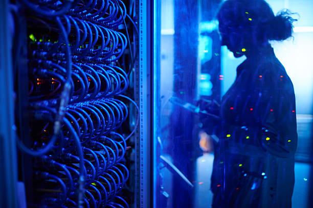 Supercomputing oportunista - foto de acervo