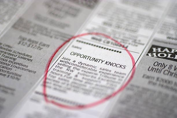 Opportunity Knocks stock photo