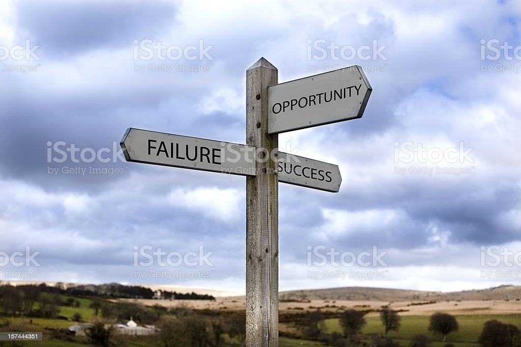 Opportunity stock photo