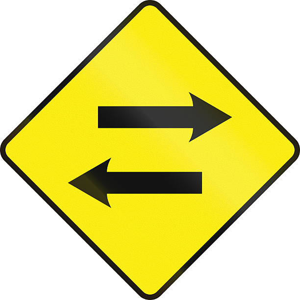 Two-Way Traffic Ahead Sign » Devco Consulting |Two Way Traffic Ahead Sign
