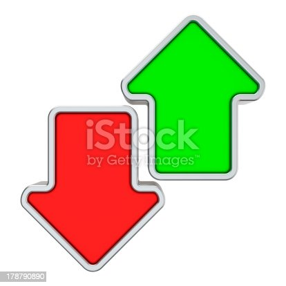 istock Opposite directions 178790890