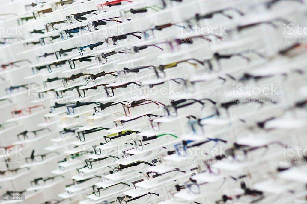 Optic shop stock photo