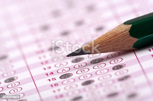 istock optical form of an examination with pencil 524069563