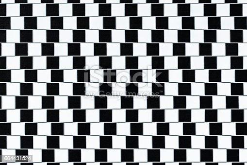 istock Optical Illusion Lines 664431524