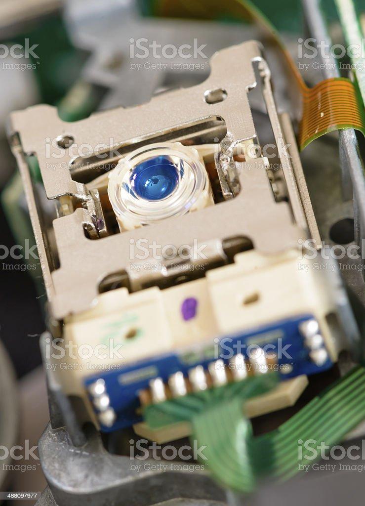 Optical Reading Head stock photo