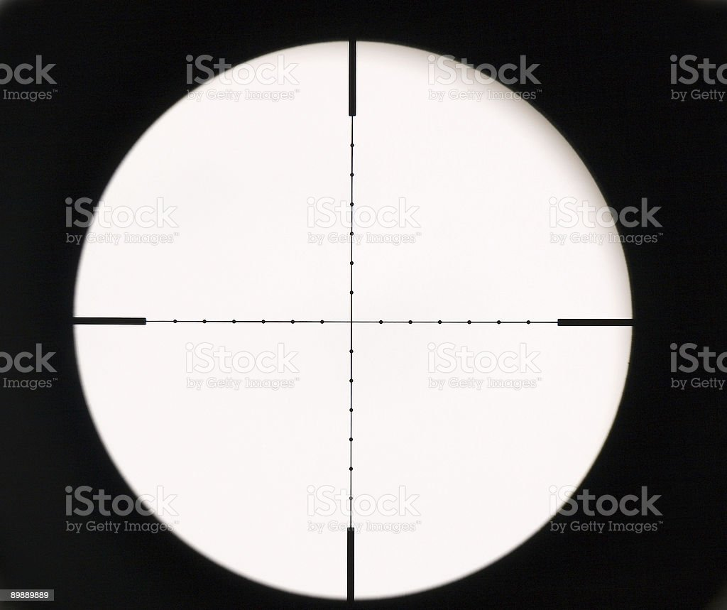 Optical sight stock photo